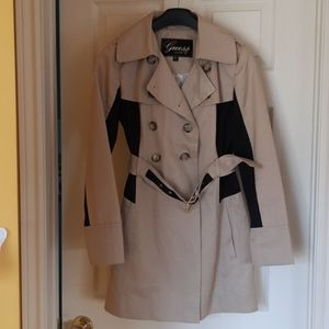 Guess Belted Trench Coat